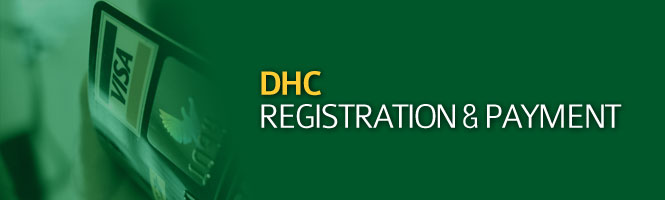 DHC Registration & Payment