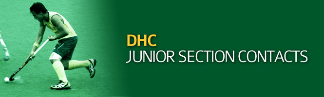 DHC Juniors Contacts