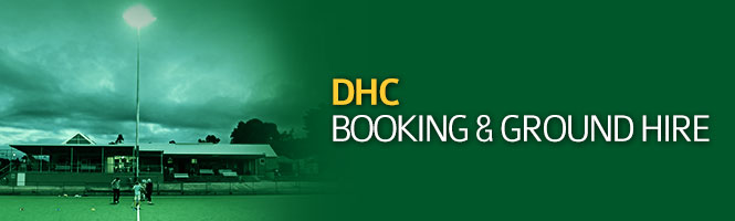 DHC Bookings & Ground Hire