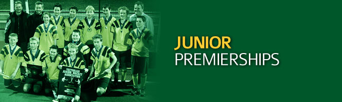 DHC Junior's Premierships