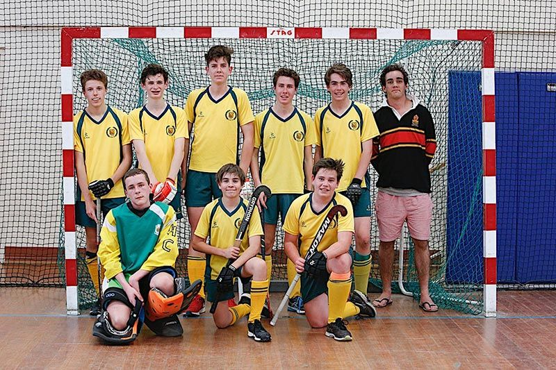 DHC Indoor Hockey - U18 Pennant